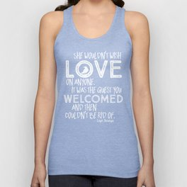 6 of Crows Book Quote design Unisex Tank Top