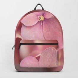 Hortensia Flower Pink Hydrangea #decor #society6 Backpack