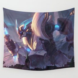Lancer Stratus Wukong League Of Legends Wall Tapestry