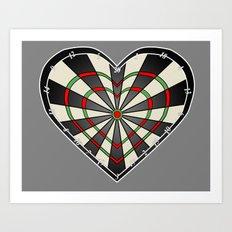 Don't use my heart as a Dartboard Art Print
