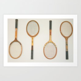 Classic Racquets Kunstdrucke