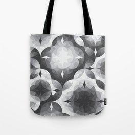 Achromatic Diamonds Tote Bag