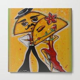 Taco Tango Metal Print