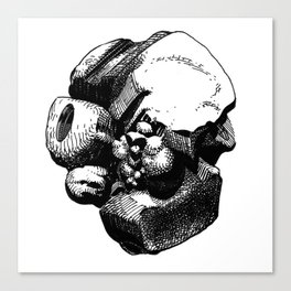 Lumps of the Twelvetide: Baby Canvas Print
