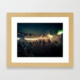 Montreux Jazz Framed Art Print