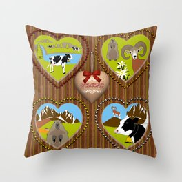 Welcome to the Mountains! (2) Throw Pillow