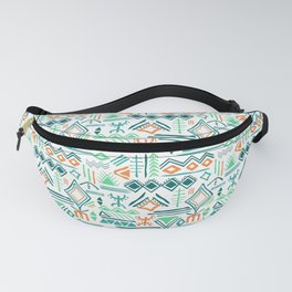 hand drawn primitive pattern Fanny Pack