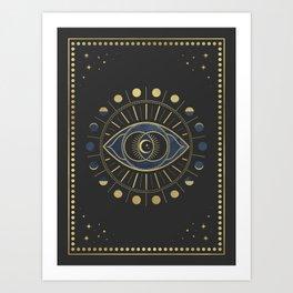 The Third Eye or The Sixth Chakra Kunstdrucke