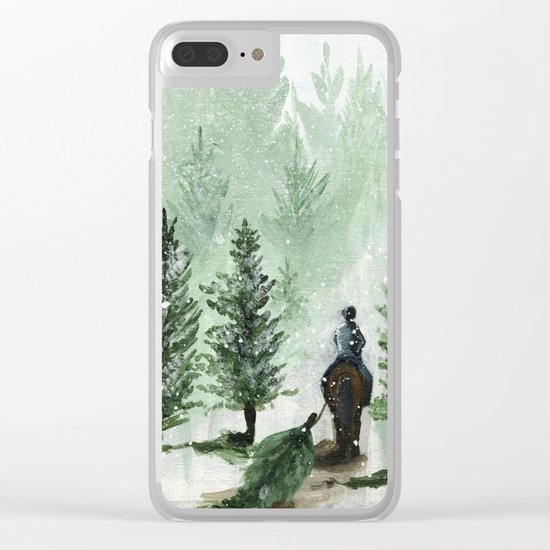 The Tree Farm Clear iPhone Case