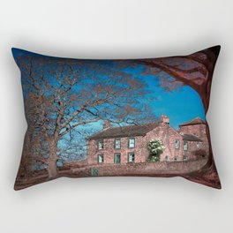 Woolley Cottage  Rectangular Pillow