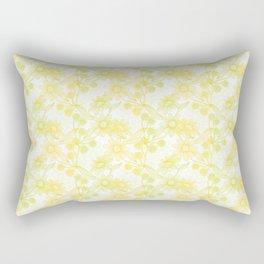 Yellow Camomiles Rectangular Pillow