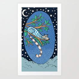 Good night lemoor Art Print