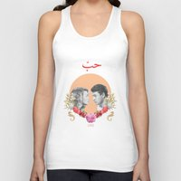 arabic Tank Tops featuring Arabic Love by Dima Tannir