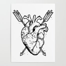 Hunted  Heart Poster