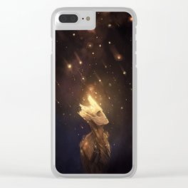 Spores Clear iPhone Case