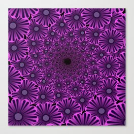 ZS AD Floral Pattern 2.1.1. S6 Canvas Print