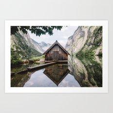 Famous cabin  Art Print