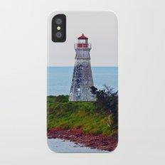 Lighthouse Cape Jourimain N-B iPhone X Slim Case