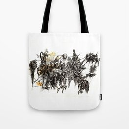 Vile Cosmos (of which we are part) by Brian Benson Tote Bag