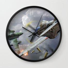 Me 262 P-51 Mustang Wall Clock