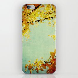 Gingko Branches iPhone Skin