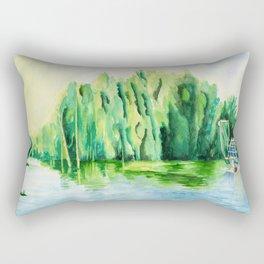 Shrimp Boat Rectangular Pillow