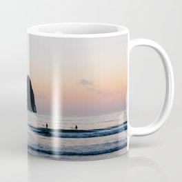 Sunset Surfers - Oregon Coast Coffee Mug