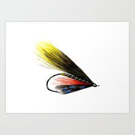 Munroe Killer Fishing Fly Art Print