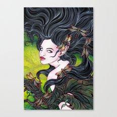 Queen of dragonflies Canvas Print