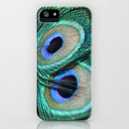 Tail of the Peacock iPhone Case
