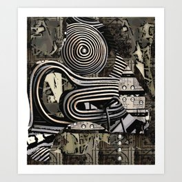 Re-Wired Art Print