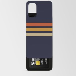 Vintage Retro Stripes Android Card Case