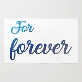 For Forever Rug