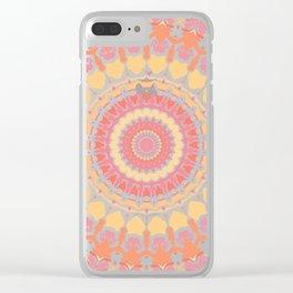 Sunshine in the Summer Mandala Clear iPhone Case