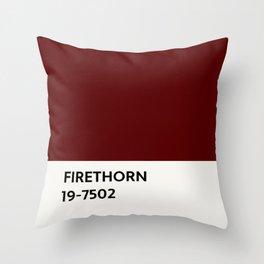 Firethorn Chip Throw Pillow