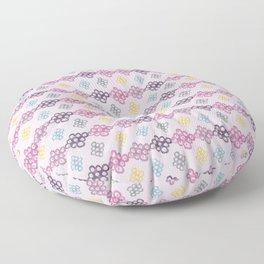 Colorful Bubble Fantasy Floor Pillow