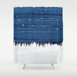 Essence of freeze Shower Curtain
