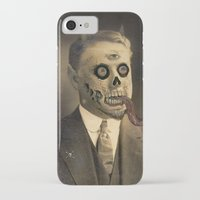 satan iPhone & iPod Cases featuring Satan by Beery Method