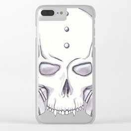 Dethmask Clear iPhone Case