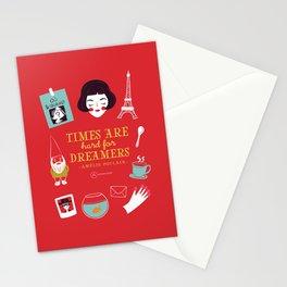 Amélie Poulain Stationery Cards