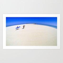 surfEXPLORE Madagascar Art Print