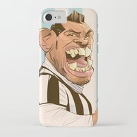juventus iPhone & iPod Cases featuring Carlos Tévez by nachodraws