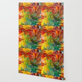 Upright Stained Twist Wallpaper