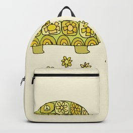 go slow retro turtle // art by surfy birdy Backpack