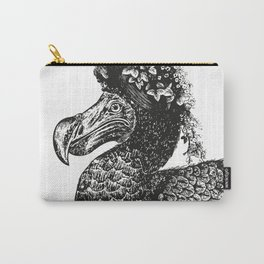 Mrs Dodo | Black & White Carry-All Pouch