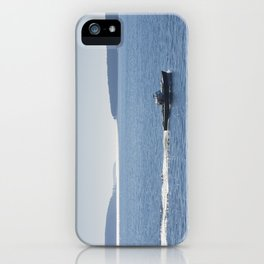 Lobster Boat And Islands Off Mount Desert Island Maine iPhone Case