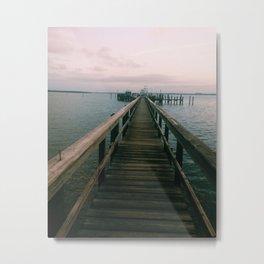 florida dock Metal Print