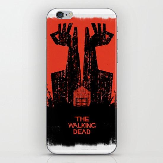 The Walking Dead. iPhone & iPod Skin