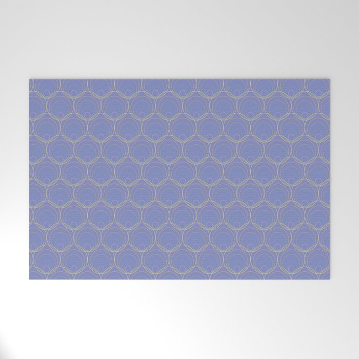 Lilac Shells Welcome Mat