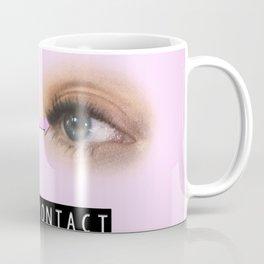 Pink Eye Contact Coffee Mug